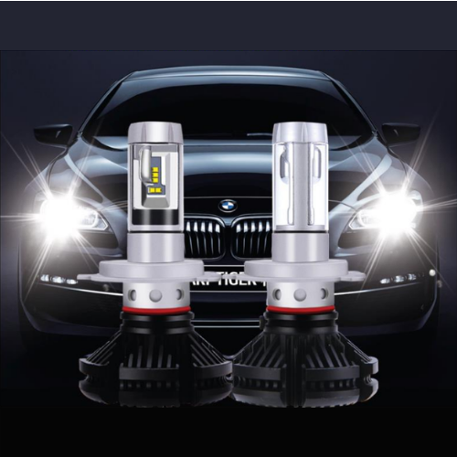 Две лампы светодиодные в фары X3 H4 по 25 w