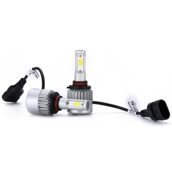 Две светодиодные лампы в фары C6 9005/HB3 по 18 w