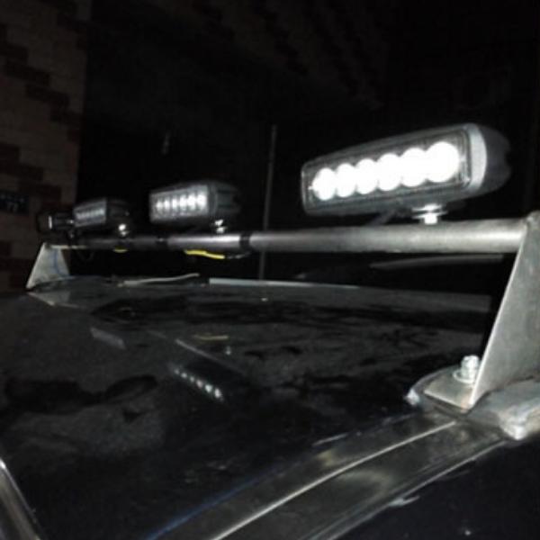 Фара светодиодная EPISTAR 18w spot усиленная