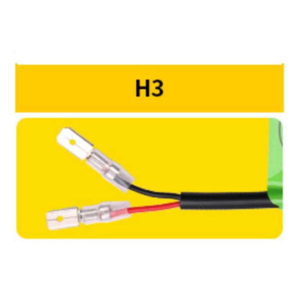 Две светодиодные лампы в фары C6 H3 по 18 w