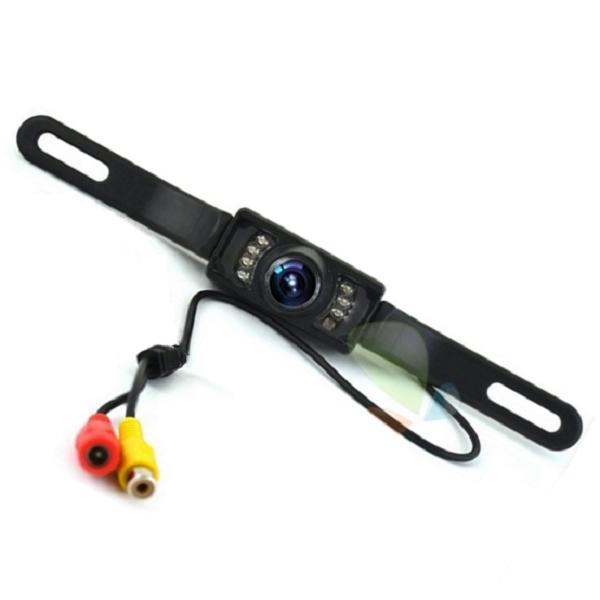 Камера заднего вида с рамкой 8 диодов HD