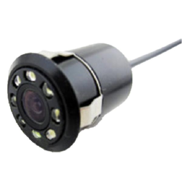 Камера заднего вида HD 8 диодов круглая