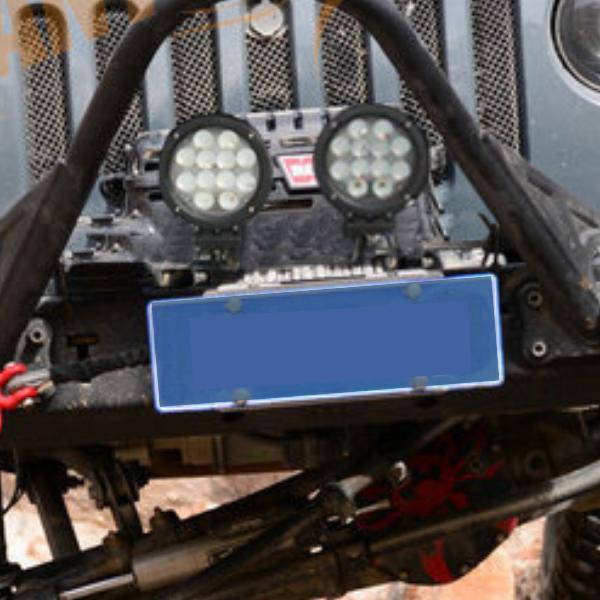 Фара светодиодная Epistar 42 w рабочая радиатор 55 мм