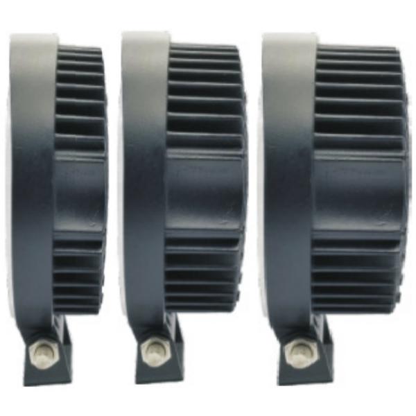 Фара светодиодная Epistar 42 w дальняя радиатор 35 мм