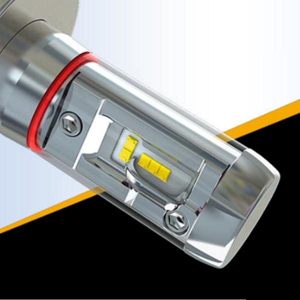 Две лампы светодиодные в фары X3 H1 по 25 w